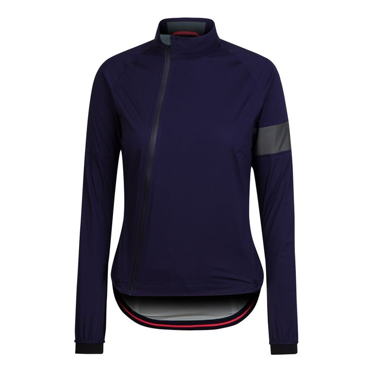 Rapha, Women's Rain Jacket - Modern cut, asymmetric zipper, undeniable style.