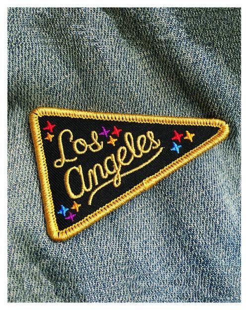 custom patch los angeles