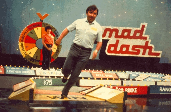 Remember this game show - running around the game board? Always wanted to be a contestant