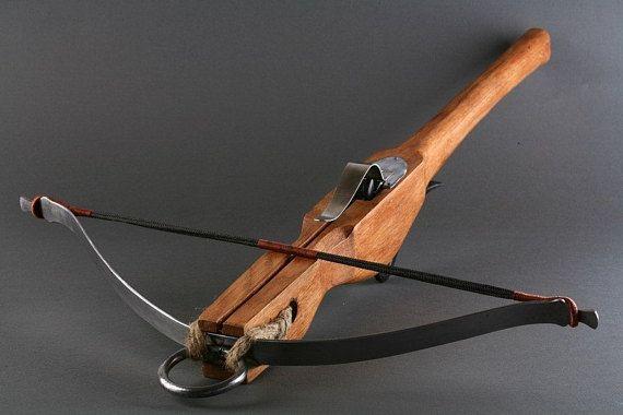 Medieval CROSSBOW kit LARP 5 crossbow bolts crossbow