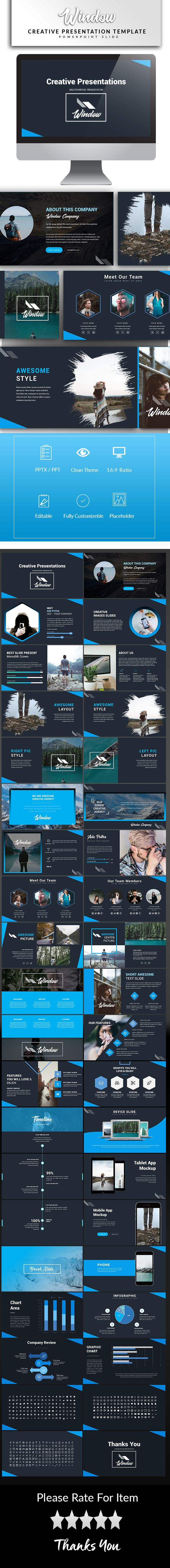 Window - Powerpoint Template