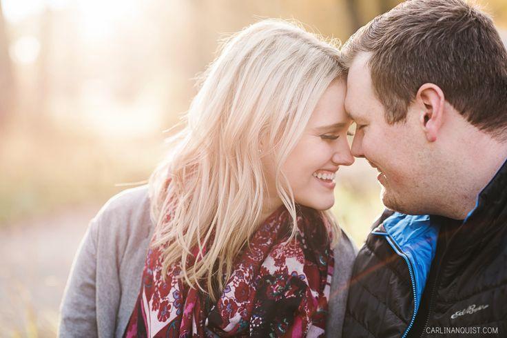 Happy Engagement Photos in Calgary, AB