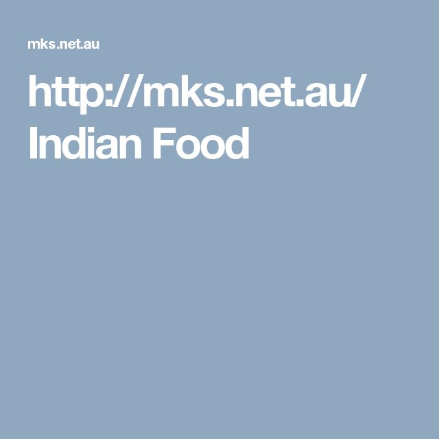 http://mks.net.au/ Indian Food