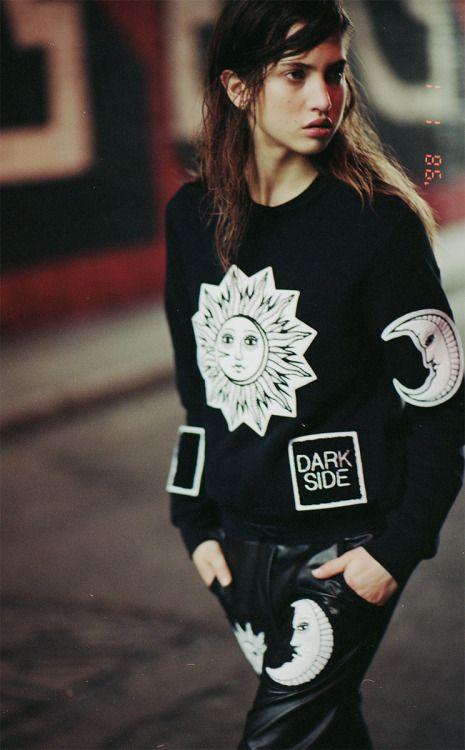 lettherebegold DARK SIDE sweatshirt and pants #sun #moon #darkside streetwear street fashion