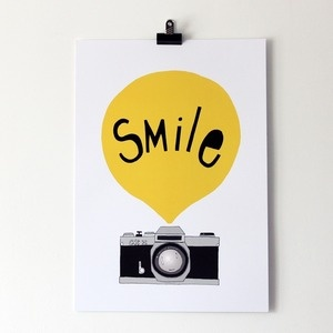 Smile by seventy tree : Graphic, Tree, Art Photography, Camera, Illustration, Poster, Cheese, Smile