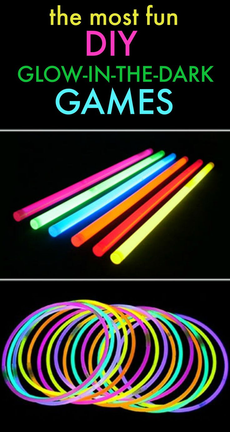 "Glow-in-the-dark sticks are fun for all ages! They're fun at the fireworks, nighttime events, Halloween, etc. However, I'm sharing different ways you can create classic games with glow sticks! Have a game night with some friends. Throw a glow-in-the dark party for the end of school, birthday party, sleepovers or ""just for fun"" get-together. These …"