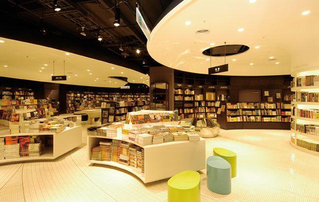 Taiwan Eslite Bookstore bookstore design Pinterest