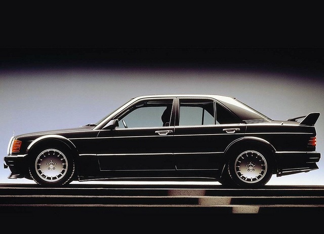Mercedes-Benz 190E 2.5-16 EVO1 by Auto Clasico, via Flickr