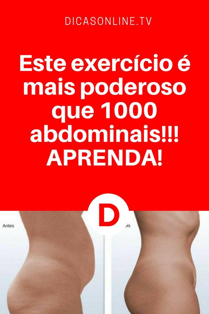 Este exercício para barriga é mais poderoso que 1.000 abdominais! Com 60 segundos por dia você verá o resultado!