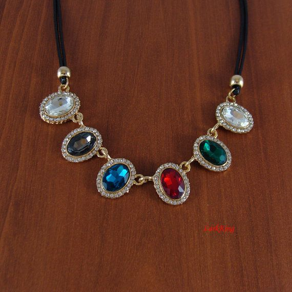 Necklace gifts christmas gifts birthday gift statement by LarkKing
