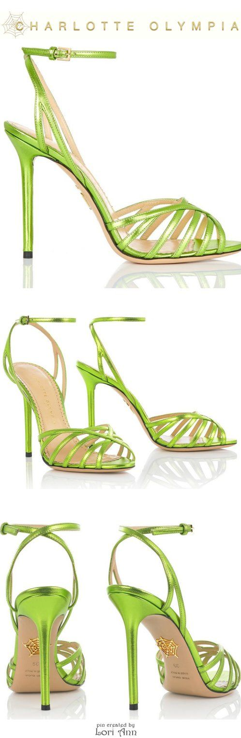 Charlotte Olympia Chiquita in Lime - Cruise 2015