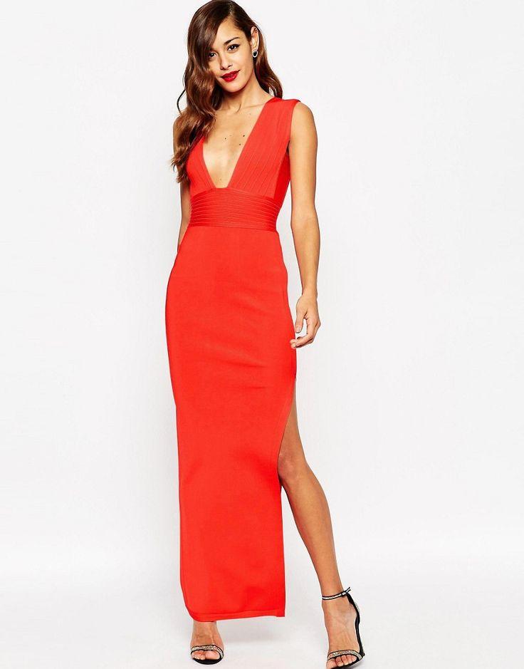 Red Wedding Guest Style - KnotsVilla