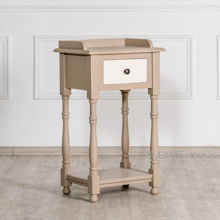 Тумбочка Bernard - Тумбочки, туалетные столики - Спальня - Мебель по комнатам My Little France