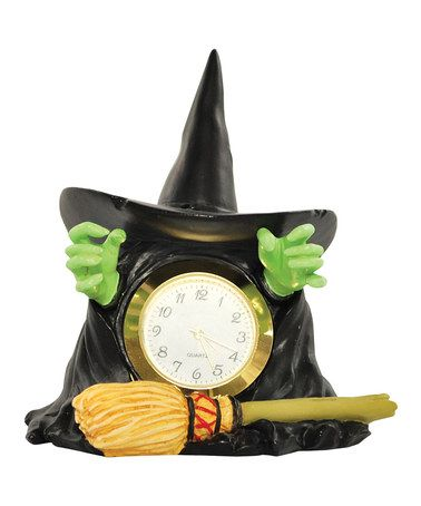 Take a look at this Wicked Witch Melting Clock by Westland Giftware on #zulily today!