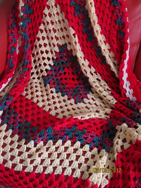 Giant granny square, for boy #2.