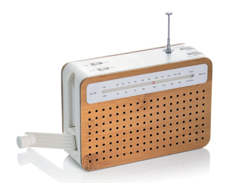 Lexon Safe Radio - A rechargeable AM/FM radio and can also be powered by crank or AC. This portable radio speaker has an MP3 amplifier to enjoy your own music. Lexon Safe Radio has a good design that you can be very proud to carry anywhere.