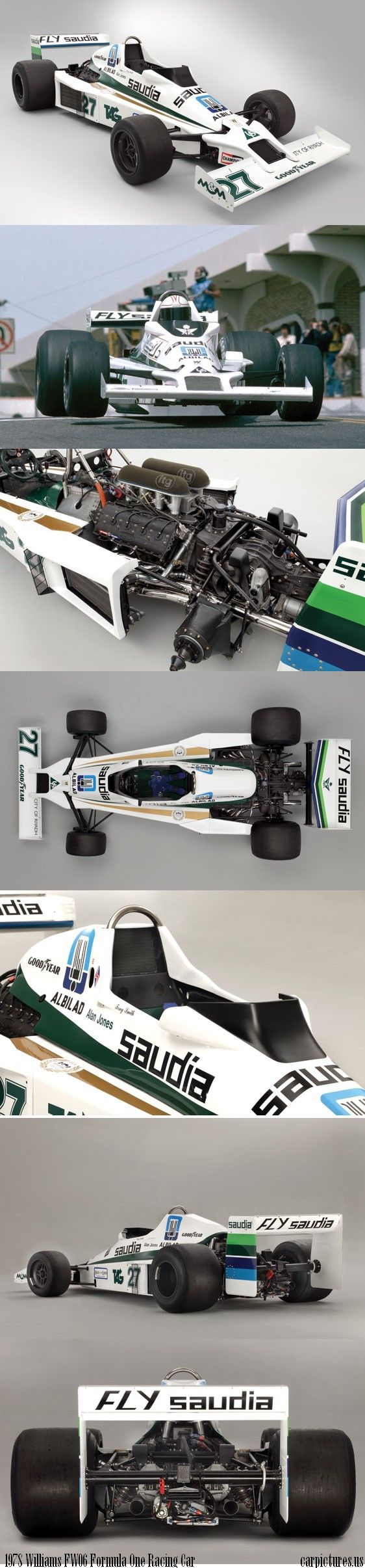 1978 Williams FW06 Formula One Racing Car. Credit: RM Auctions