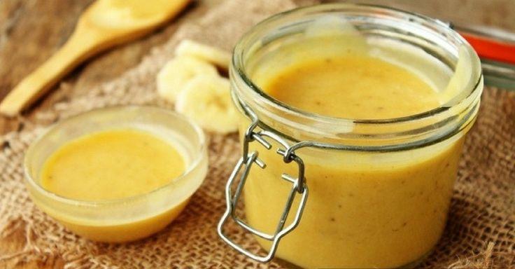 Recept na banánový krém