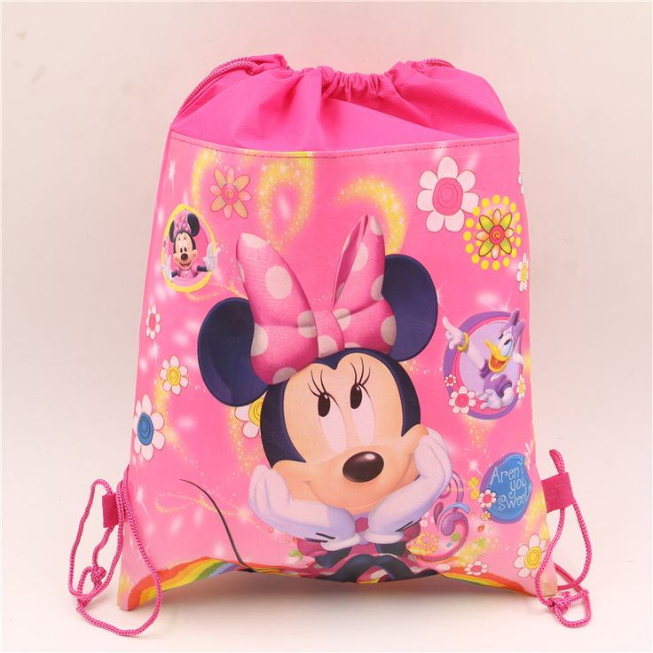 birthday christmas gift lovely minnie mouse kids girls non-woven fabrics backpacks drawstring bag 1pcs #clothing,#shoes,#jewelry,#women,#men,#hats,#watches,#belts,#fashion,#style