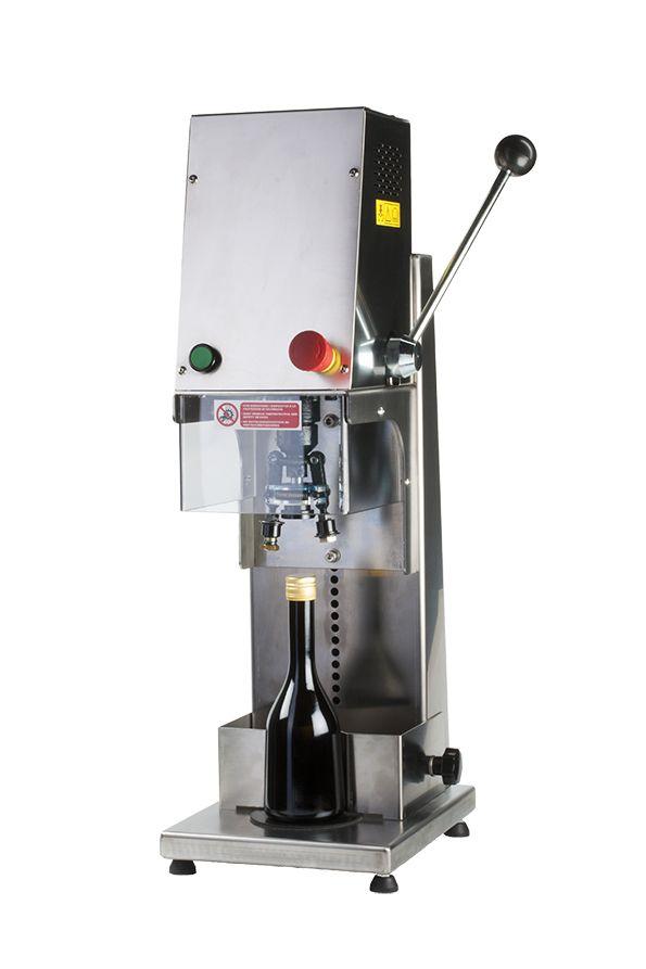 La máquina taponadora pilfer te permite cerrar de forma profesional tus #botellas de #aceite y vinagre.