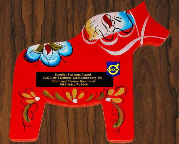 dala horses lindsborg ks | VOAC, Swedish Heritage Award, Lindsborg, KS 2011 Dala Horse