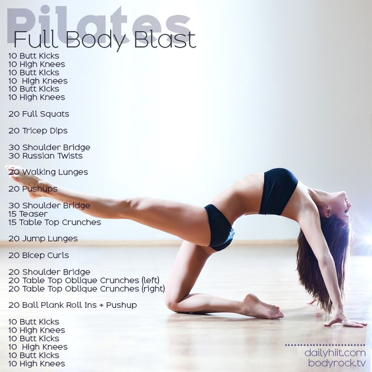 Pilates Full Body Blast.  Need to boost up your workout?  Here you go!!!!  GET MOVING!!  Maybe