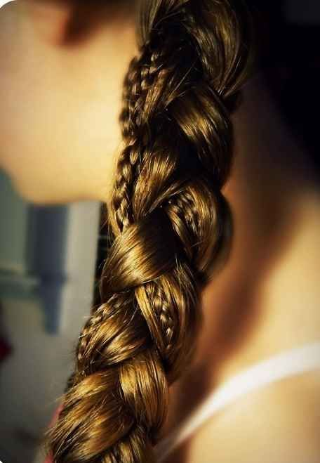 And a super easy way to up your braid game — braid-on-braid action! | 15 Ways To Up Your Braid Game