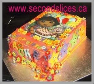 Custom Birthday Cakes Dora the Explorer