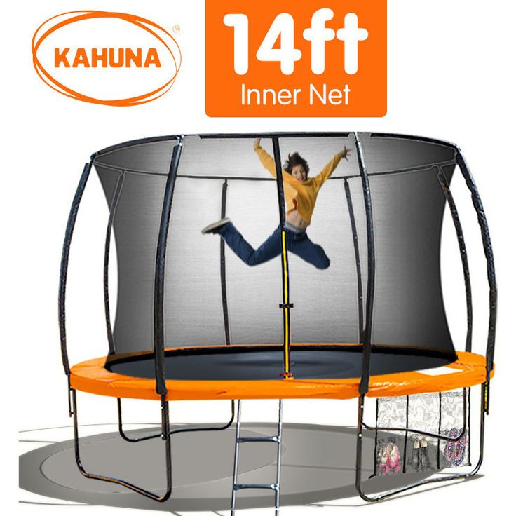 Orbounder 14 Trampoline And Enclosure Combo: 1000+ Ideas About 14ft Trampoline On Pinterest