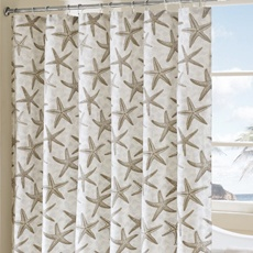 Guest Bathroom shower curtain