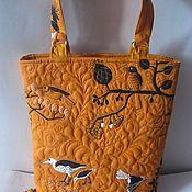 Сумки и аксессуары ручной работы. Ярмарка Мастеров - ручная работа Гавайи стёганая сумка. Handmade.