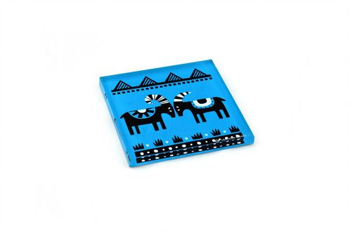 Goat | plexiglass coaster | screenprinted & lazer cutted | designed and made in Greece