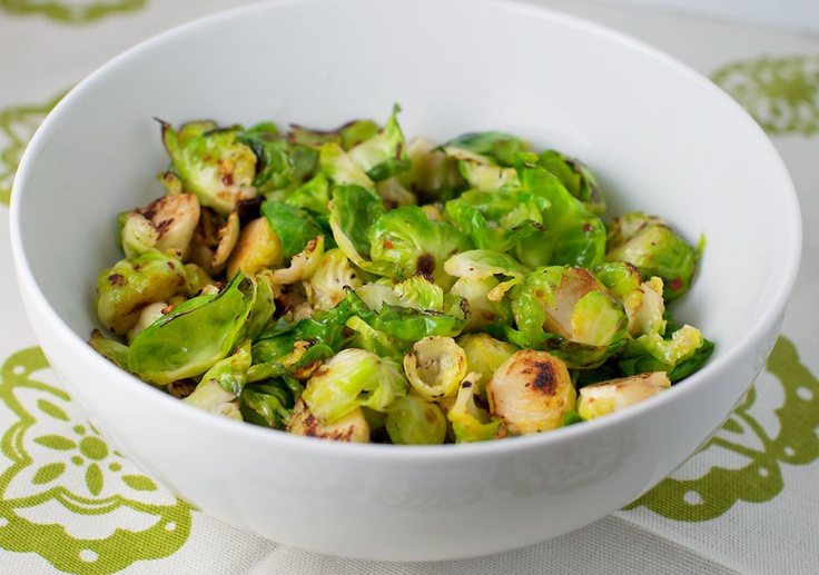 Sauteed Brussels Sprouts | Veggies {Brussels Sprouts} | Pinterest
