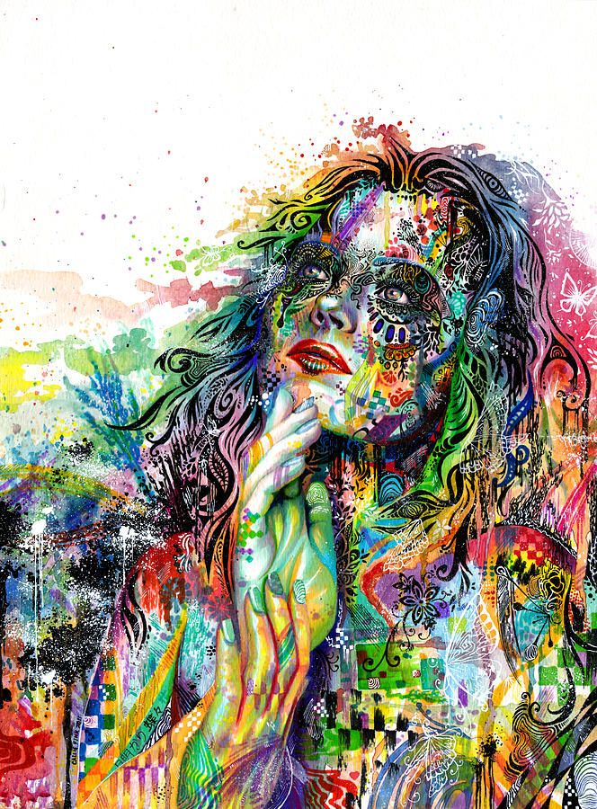 Enigma Painting by Callie Fink...amazing must see