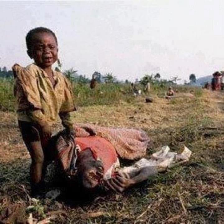 All das passiert JETZT! Es ist keine schreckliche Vergangenheit sondern die grausame Gegenwart!