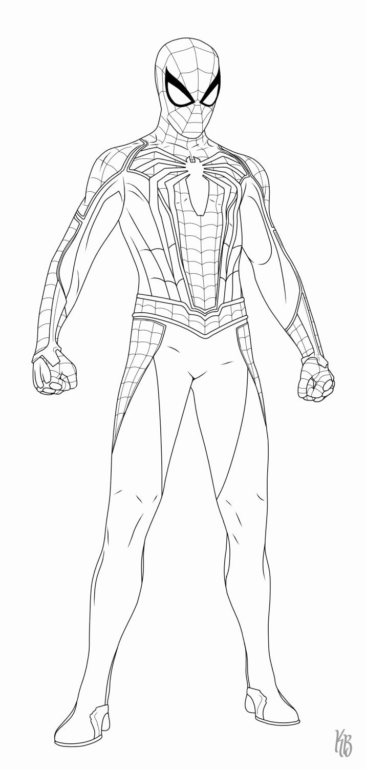 Spider Man Into The Spider Verse Coloring Page Luxury 38 Best Marvel S Spider Man Ps4 Images On Pinter In 2020 Spiderman Drawing Spiderman Homecoming Drawing Spiderman