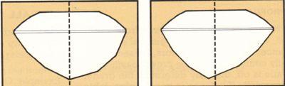 Notre conseil :   La table est le puits de lumière de votre pierre. Il faut y apporter une attention particulière.   a4. Le désaxement de la culasse : L'art du lapidaire, et, sans aucun doute, l'un des points les plus difficiles de notre métier de tailleurs : le positionnement de la couleur dans la culasse de la pierre.   Notamment les gemmes qui ont :   des zones de couleurs.   différentes couleurs ou tonalités de couleur en fonction de l'axe dans lequel on regarde la pierre…