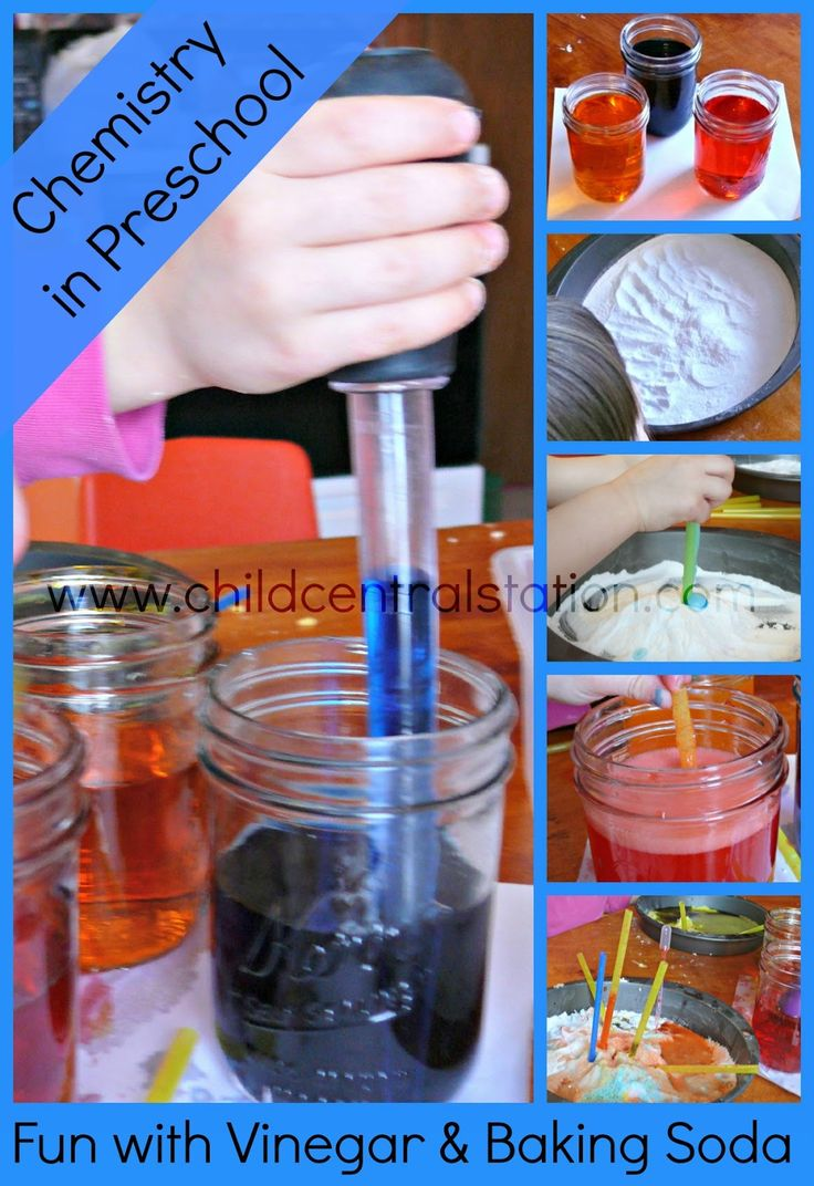Preschool Chemistry: Fun with Vinegar and Baking Soda | Child Central Station