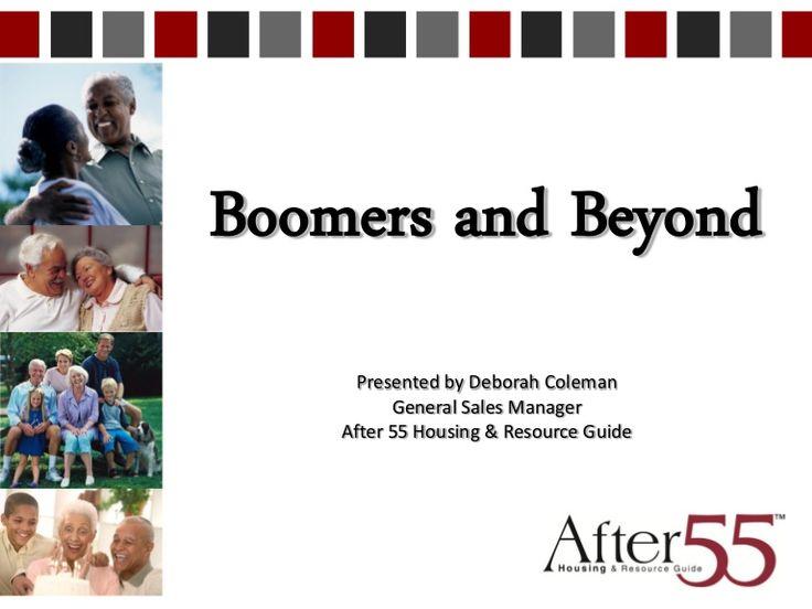 HRAMA: BOOMERS! Engaging the Over 55 Market by Hampton Roads American Marketing Association via slideshare