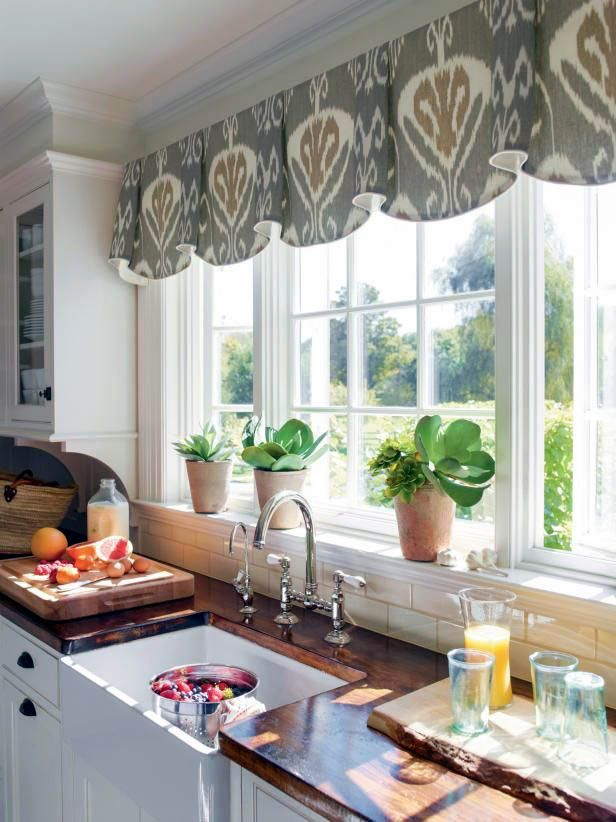 How To Decorate A Big Lots Kitchen Window Curtains Exclusive On Planet Home Decor Kitchen Window Treatments Kitchen Bay Window Stylish Kitchen