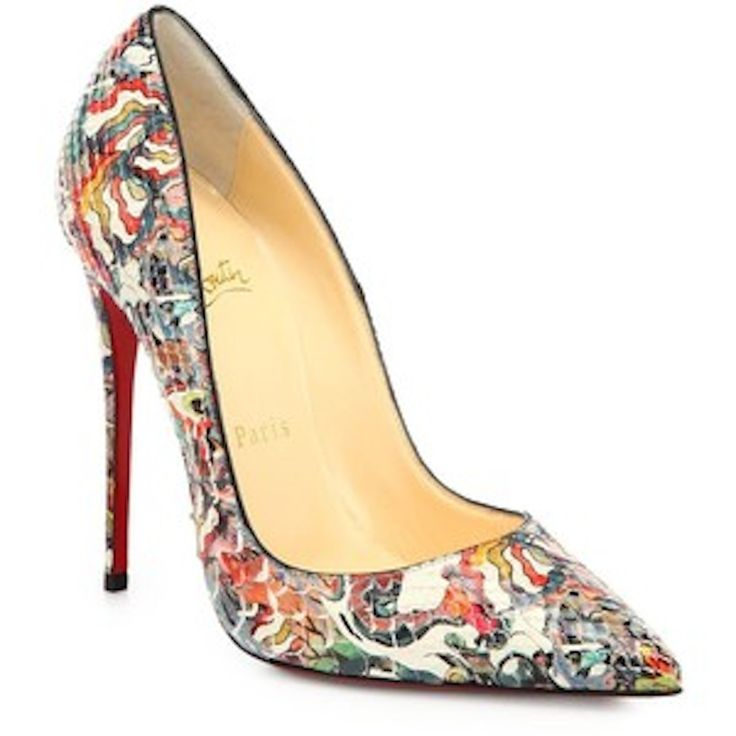 spiked boots for men christian louboutin - Christian Louboutin \u0026quot;So Kate 120 Faience Lucido\u0026quot; | Imelda\u0026#39;s Shoe ...