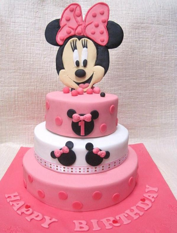 Tartas de cumpleaños - birthday Cake - Mini Mouse Birthday Cake