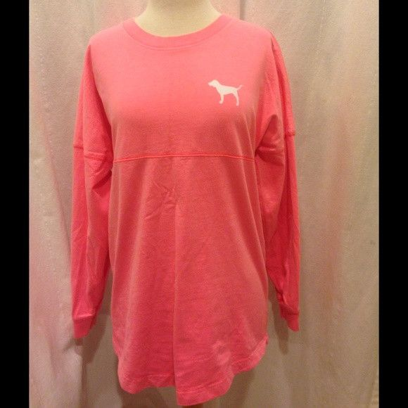 Condition: Brand New Type: Varsity Crewneck / Crew Size: Small Victoria's Secret Pink Varsity Crew