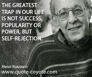 Henri Nouwen accept yourself!
