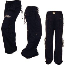 Zumba cargo pants. Moves - especially destroza - just look & feel better with these.  I dance harder in my Zumba cargos!