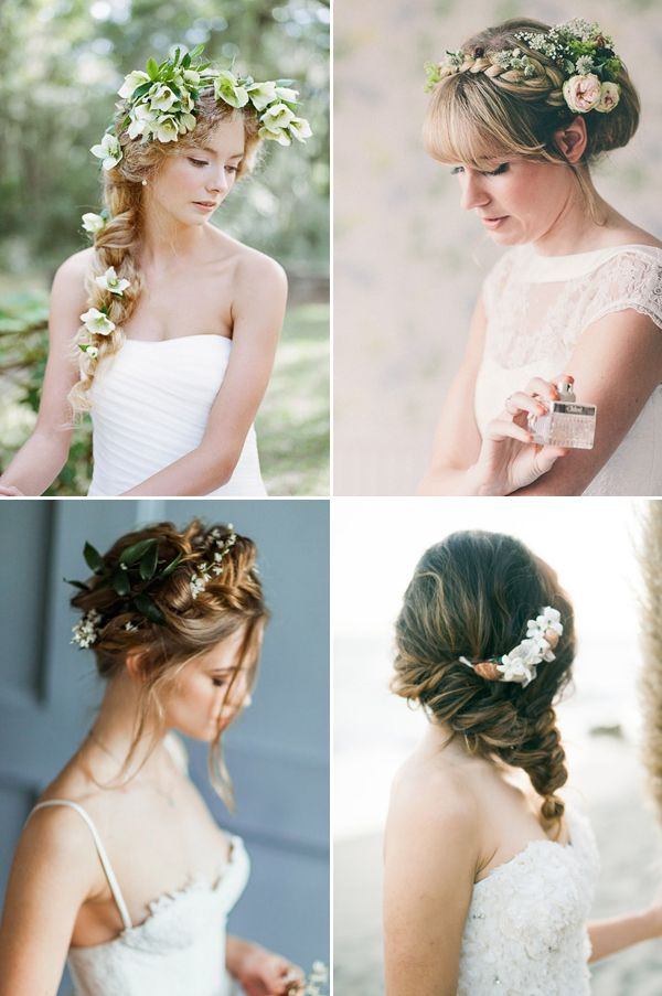 24 Creative and Seriously Pretty Ways to Wear Fresh Flowers in Your Hair!