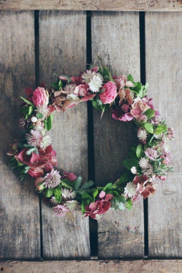 ©La mariee aux pieds nus - Couronne de fleurs