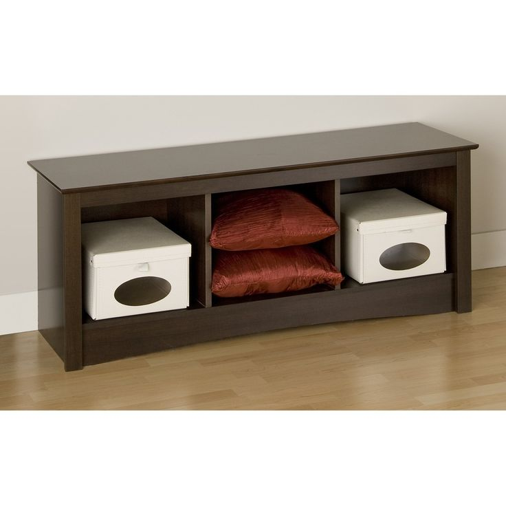 Have to have it. Prepac Fremont Espresso Cubby Bench - $99.97 @hayneedle