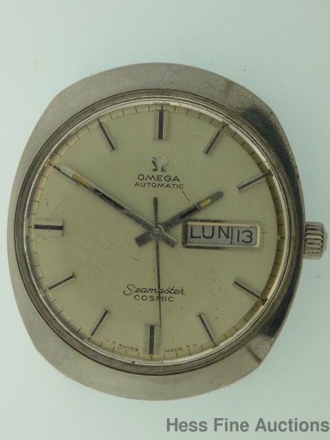 Vintage Omega Seamaster Cosmic Automatic Day Date Mens Wrist Watch #Omega