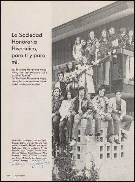 1974+McAllen+High+School+Yearbook+via+Classmates.com